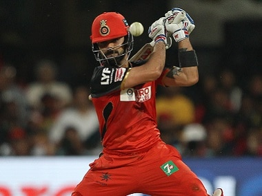Royal Challengers Bangalore captain Virat Kohli in action. BCCI