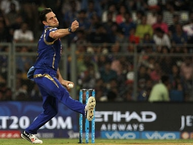 Mitchell McClenaghan has been in fine form for Mumbai this season. BCCI