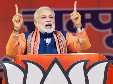 Narendra Modi. File photo. PTI