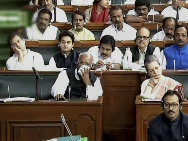 File photo of the Lok Sabha. PTI