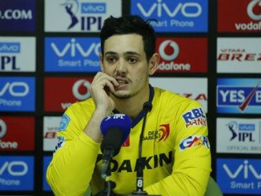 Quinton de Kock at the media interaction after Delhi Daredevils' loss to Royal Challengers Bangalore at Raipur. Sportzpics