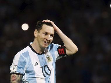 Messi's Copa America in jeopardy. Reuters