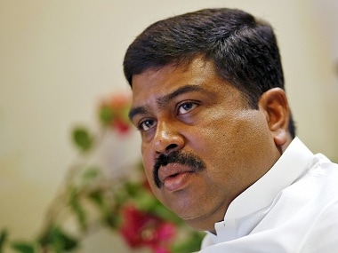 Oil Minister Dharmendra Pradhan. File photo. Reuters