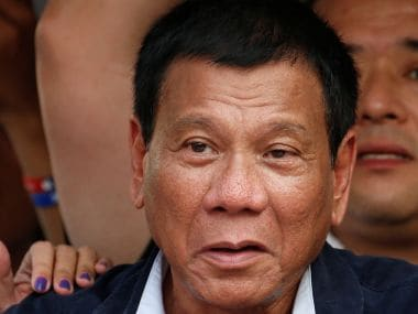 File photo of Rodrigo Duterte. Reuters