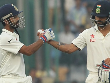 Ajinkya Rahane and Virat Kohli. News18