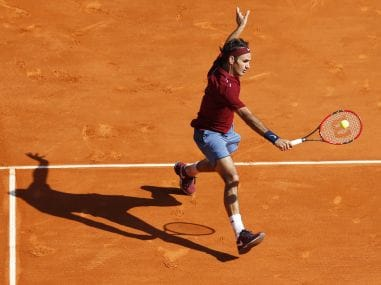 File photo of Roger Federer from Monte Carlo. AFP