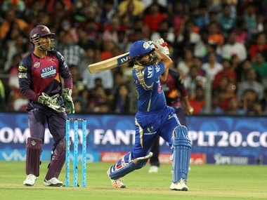 Rohit Sharma hit a half-century to power MI to a comprehensive 8-wicket win over Pune. BCCI