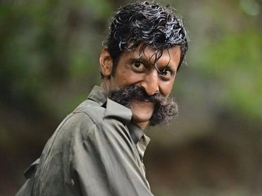 Sandeep Bharadwaj as Veerappan in Ram Gopal Varma's film on the smuggler