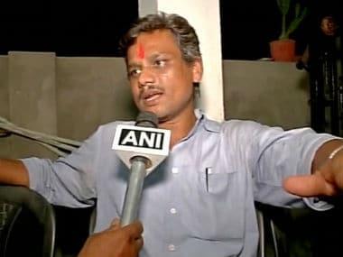 Sanjay Bhardwaj after his release https://twitter.com/ANI_news