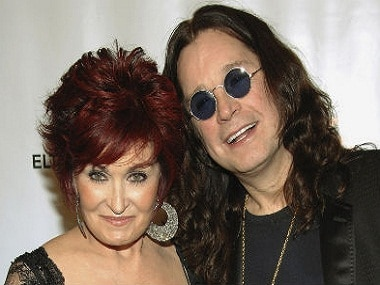 Sharon and Ozzy Osbourne. Image from AP