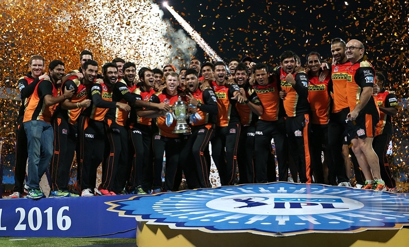 Sunrisers Hyderabad won their first ever IPL trophy. BCCI