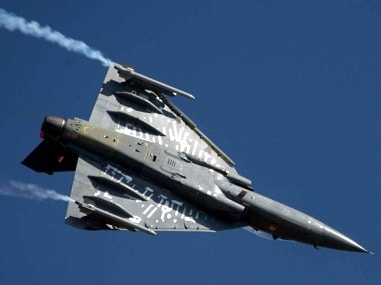 A file photo of Tejas Light Combat Aircraft. PTI