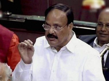 M Venkaiah Naidu. PTI