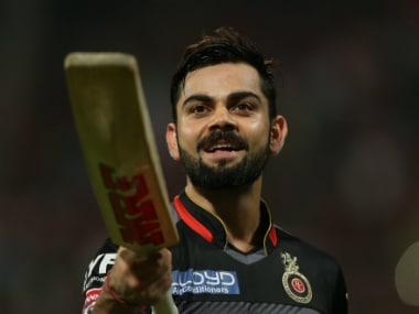 Virat Kohli became the first batsman in the history of the IPL to reach 4,000 runs. Sportzpics