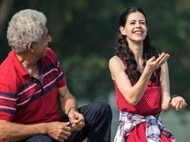 Naseeruddin Shah and Kalki Koechlin in 'Waiting'