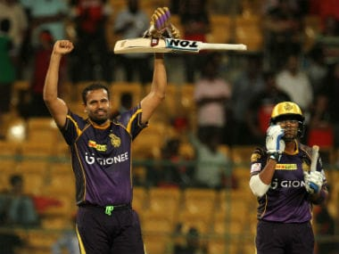 Yasaf Pathan remained unbeaten on 60 off 29 balls. Sportzpics/IPL