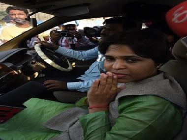Activist Trupti Desai. Getty Images