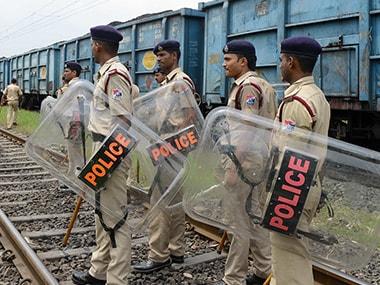 File photo of Gujarat police. AFP