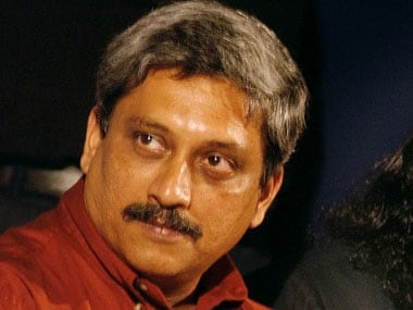 Manohar Parrikar. File photo. AFP