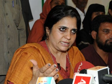 Teesta Setalvad. File photo. AFP