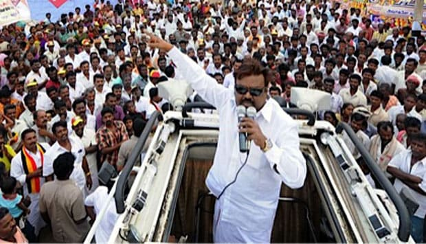 File photo of DMDK leader Vijaykanth. PTI