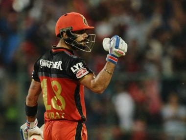 Virat Kohli wants to be the best athlete in the world. afp