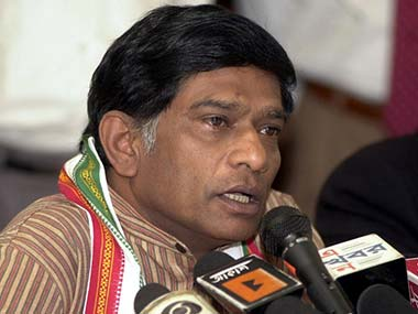 File photo of Ajit Jogi. AFP