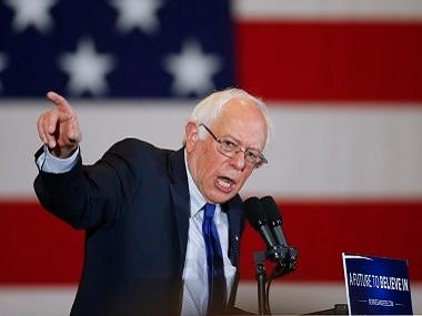 Democratic presidential candidate Bernie Sanders. AP