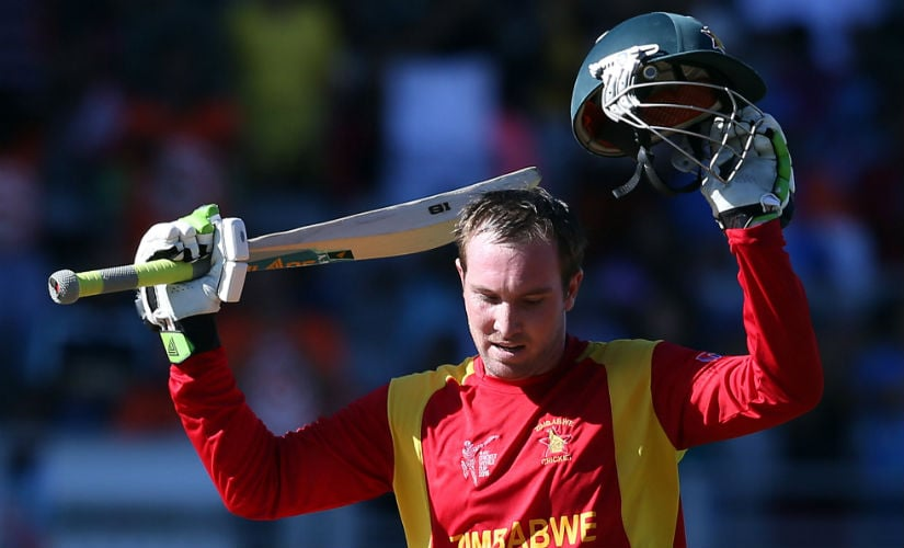 Brendan Taylor Zimbabwe India 2015 World Cup AFP listicle