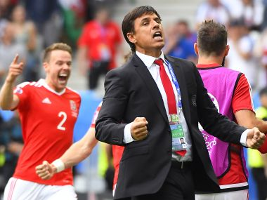 File photo of Chris Coleman. AFP