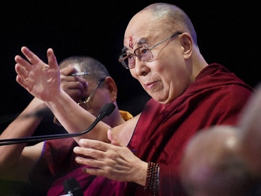 File image of Dalai Lama. PTI
