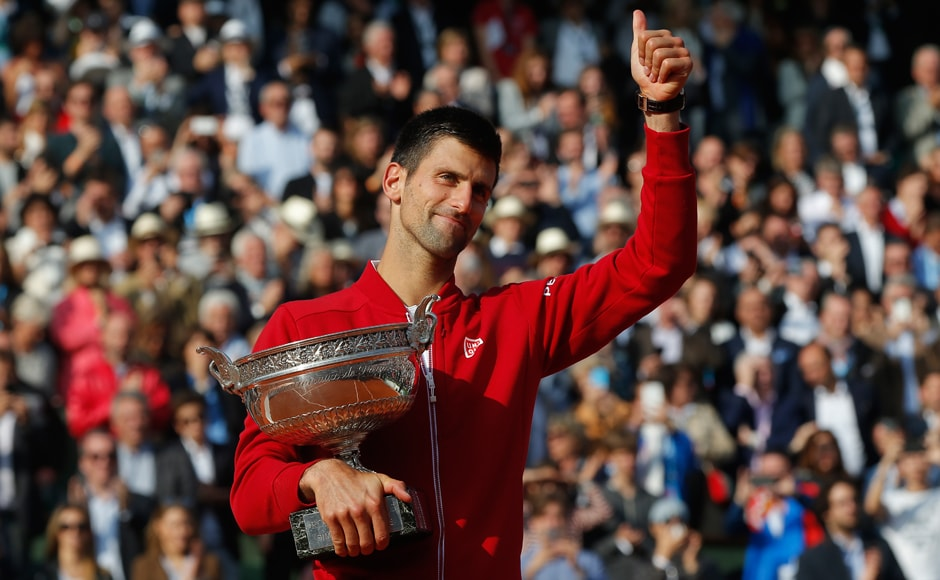 Champions! From Djokovic to Paes-Hingis, all the big winners at French Open 2016
