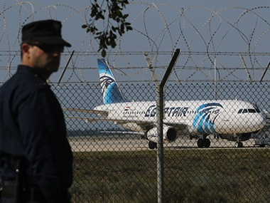 EgyptAir flight leaves for Beijing after bomb hoax