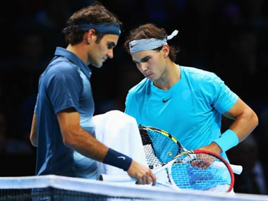 File image of Roger Federer and Rafael Nadal. Getty Images