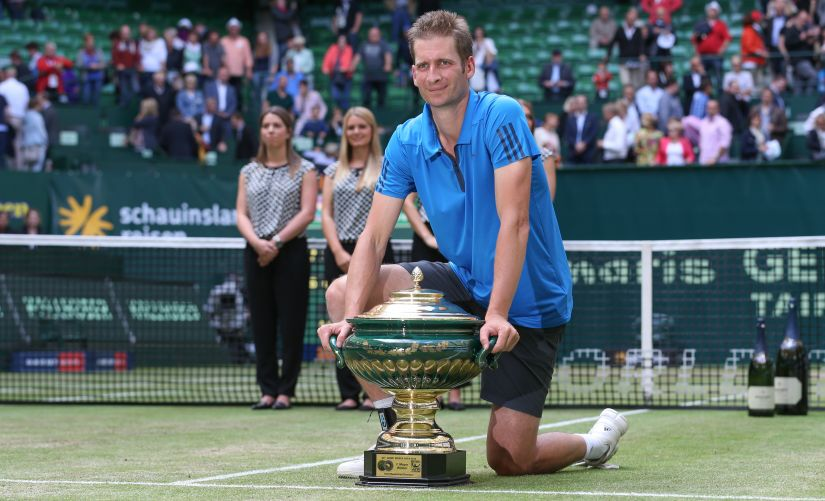 The week in tennis: World No. 192 Florian Mayer wins Halle title; Madison Keys lifts Birmingham trophy