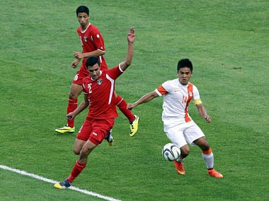 Laos will be tough, warns Sunil Chhetri. Getty images
