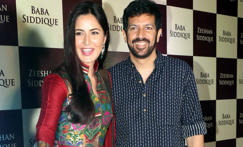 Katrina Kaif with kabir Khan at Baba Siddiqui's iftaar party on Sunday. Image by Sachin Gokhale/Firstpost