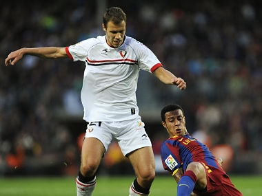 Krisztian Vadocz (right) had previously played for Pune City FC in the ISL. Getty Images