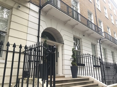 The property in London. Image courtesy: Asian Lite