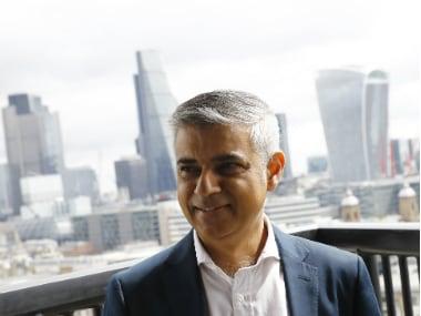 London Mayor Sadiq Khan. Reuters