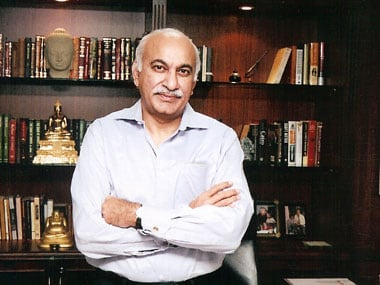 File image of MJ Akbar. Image courtesy: Facebook