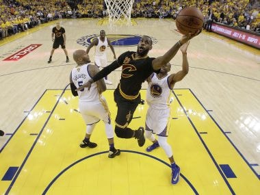 LeBron James powers Cleveland Cavaliers' thrilling win over Golden State Warriors for first NBA title