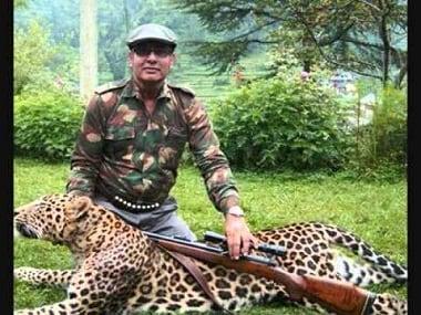 Nilgai hunter Nawab Shafat Ali Khan. YouTube screen grab.
