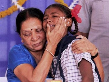Gujarat CM Anandiben Patel breaks down on issue of female foeticide