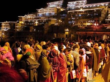 Over 1 lakh devotees visit Vaishno Devi shrine in first three days of Navratri in Jammu and Kashmirs Katra
