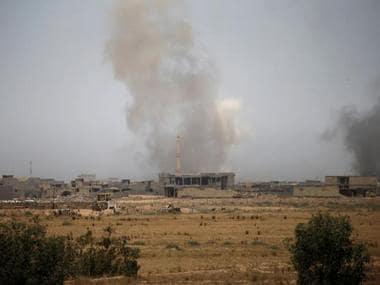 Fallujah IS Iraq offensive
