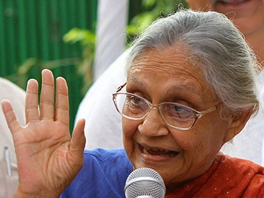 File photo of Sheila Dixit. PTI