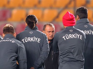 Turkey's coach Fatih Terim has made the Turks a battling outfit. AFP