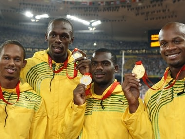 Usain Bolt's Beijing gold in jeopardy after relay partner Nesta Carter's failed doping test