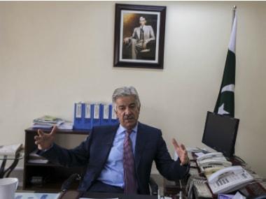 Pakistan's Defence Minister Khawaja Asif. Reuters